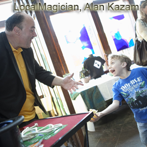 Local Magician, Alan Kazam