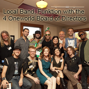 Local Band, Funktion with the 4 Oneworld Board of Directors